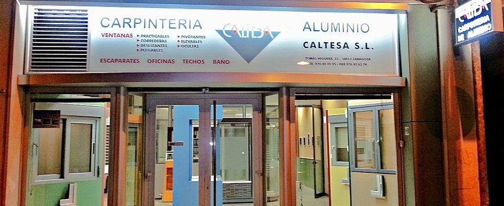Caltesa carpinteria aluminio en Zaragoza