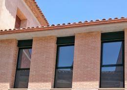 Trabajo de ventana de PVC por Caltesa
